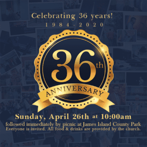 Church Anniversary Celebration @ Charleston Baptist Church | Charleston | South Carolina | United States