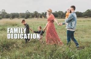 FAMILY DEDICATION - both services @ Charleston Baptist Church   Charleston   South Carolina   United States