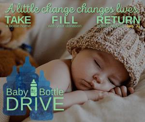 Baby Bottle Drive