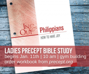 Precept Bible Study @ Charleston Baptist Church Gym building | Charleston | South Carolina | United States